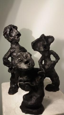 Terracotta, 2018, cm 14+16+21(h)