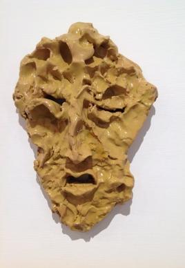 ceramica smaltata (glazed ceramic), 2018, cm 25x18,5x6