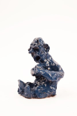 ceramica smaltata (glazed ceramic), 2018, cm 17x9,3x6