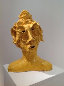 ceramica smaltata (glazed ceramic), 2018, cm 37x27x21