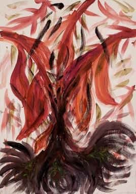 acquerello su carta Fabriano 210 gr 50% cotone (watercolor on Fabriano paper 210 gr 50% cotton), 1/11/2017, cm 100x70