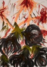 acquerello su carta Fabriano 210 gr 50% cotone (watercolor on Fabriano paper 210 gr 50% cotton), 2/11/2017, cm 100x70