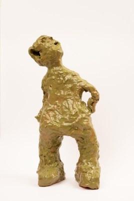 ceramica smaltata (glazed ceramic), 2018, cm 50x24x15