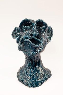 2018, ceramica smaltata (glazed ceramic), cm 29x24x21,5