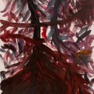 """""""For I Can't Help"""", acquerello su carta (watercolor on paper), 3/11/2017, cm 100x70"""