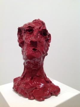 2018, ceramica smaltata (glazed ceramic) cm 29,5 x 21 x 14