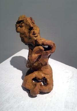 2018, ceramica smaltata (glazed ceramic), cm 7,5x8,5x12