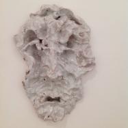 """Parsifal"" / maschera (Mask), ceramica smaltata (glazed ceramic), 2018, cm 23x17x7"