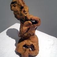 """""""La soluzione"""" (The Solution), ceramica smaltata (glazed ceramic), 2018, cm 7,5x8,5x12"""