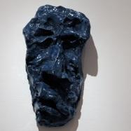 """""""Saul"""", ceramica smaltata (glazed ceramic), 2017, cm 17x9,3x6"""