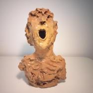 """""""Win"""", ceramica smaltata (glazed ceramic), 2019, cm 35x22x20"""