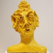 """""""Samurai"""", ceramica smaltata (glazed ceramic), 2018, cm 37x27x21"""