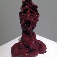"""Viceré"" (Viceroy), ceramica smaltata (glazed ceramic), 2018, cm 15x11x5,5"