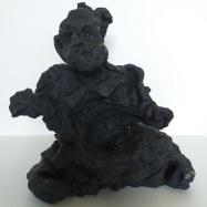 """Profeta"" (Prophet), terracotta, 2020 cm 33x28x18"