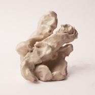 """Pietà"", ceramica smaltata (glazed ceramic), 2017 cm 11x10x8"