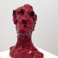 """""""Cugino"""" (Cousin), ceramica smaltata (glazed ceramic), 2018, cm 29,5x21x14"""